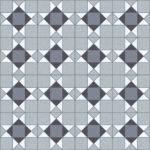 Domestic Cushion Vinyl Trend Tex Victorian Mosaic Grey edited 1