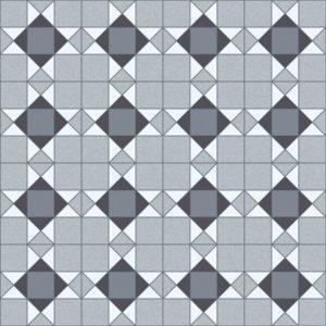 Domestic Cushion Vinyl Trend Tex Victorian Mosaic Grey edited 1