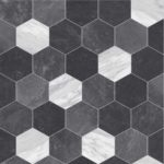 Hexagonal Black