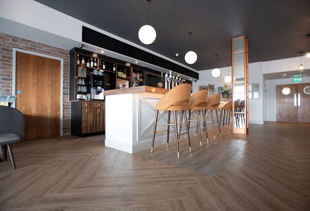 Polyflor Affinity Dapple Oak Gallery Cocktail Bar